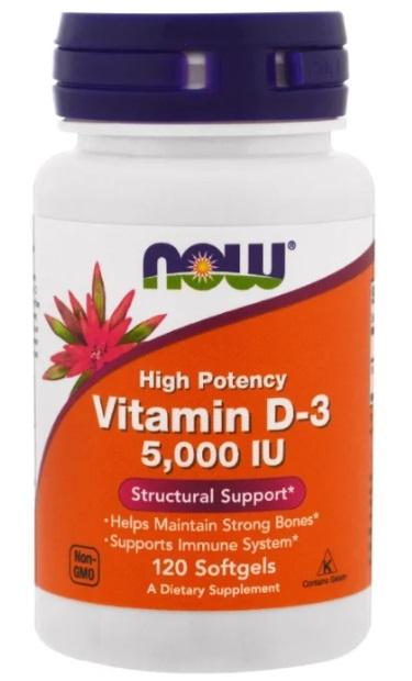 Vitamin D-3 капс. 5000 МЕ No120
