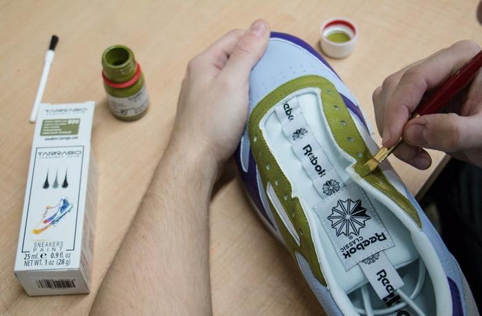 чем можно покрасить кроссовки в домашних условиях