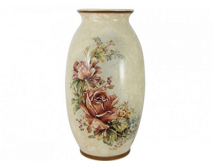 ваза из керамики для цветов