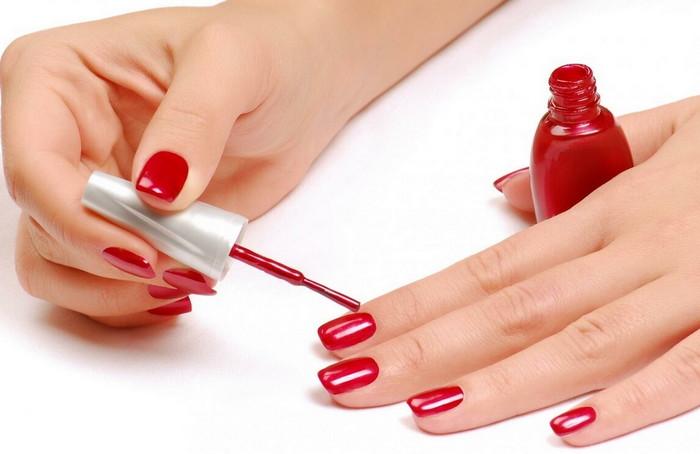 накрасить ногти своими руками