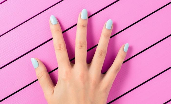 сушка ногтей на воздухе