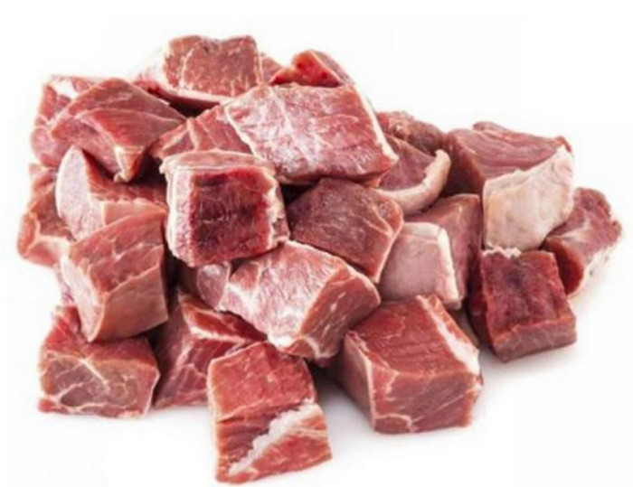 кусочки мяса для заморозки
