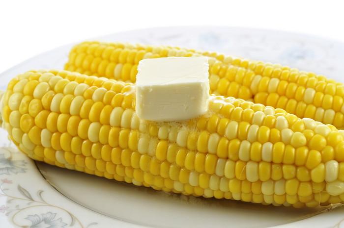 кукуруза со сливочным маслом