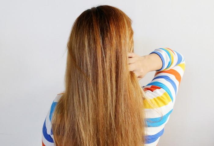 сушка волос на воздухе