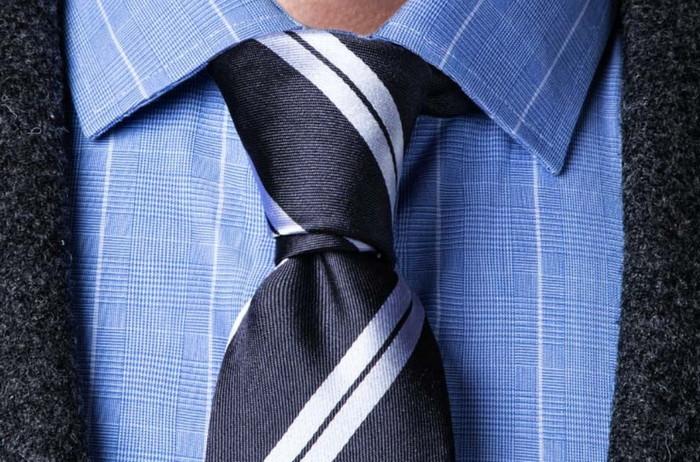 узел галстука принц альберт