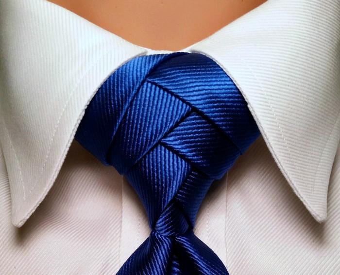 красивый узел галстука фото