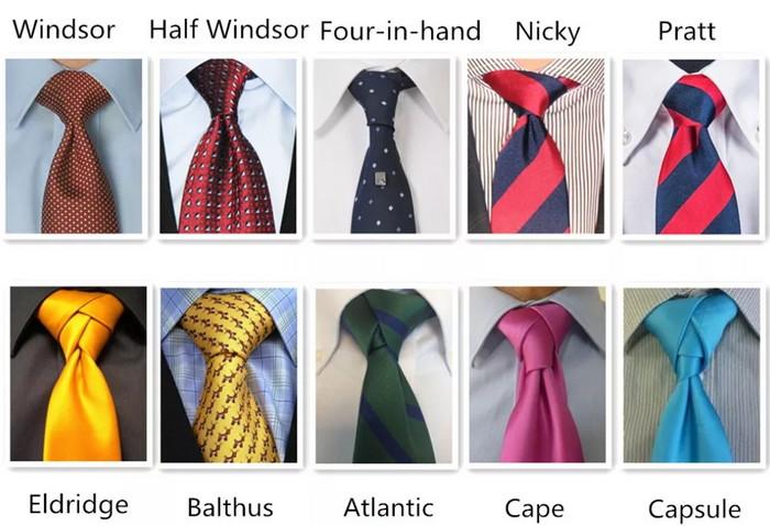 узлы для галстука фото с названиями