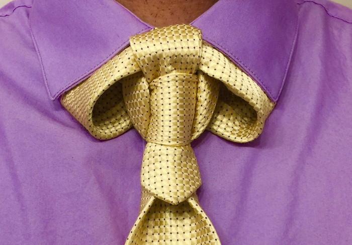 оригинальный узел галстука