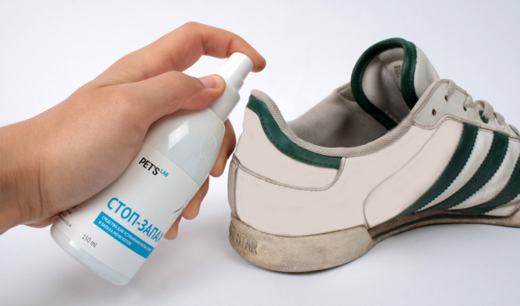 как избавиться от запаха в обуви быстро