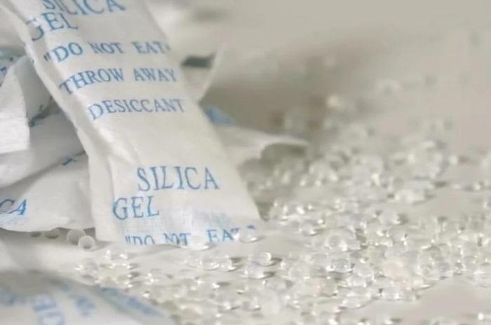 силикагель избавит от запахов