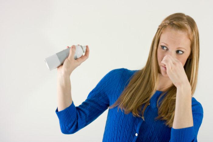 устранение запахов внутри